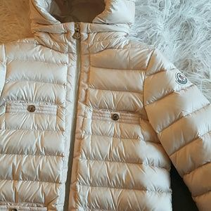 MONCLER girls quilted puffer coat 12Y